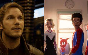 """Chris Pratt diz que Homem-Aranha no Aranhaverso é uma """"obra-prima visualmente deslumbrante"""""""