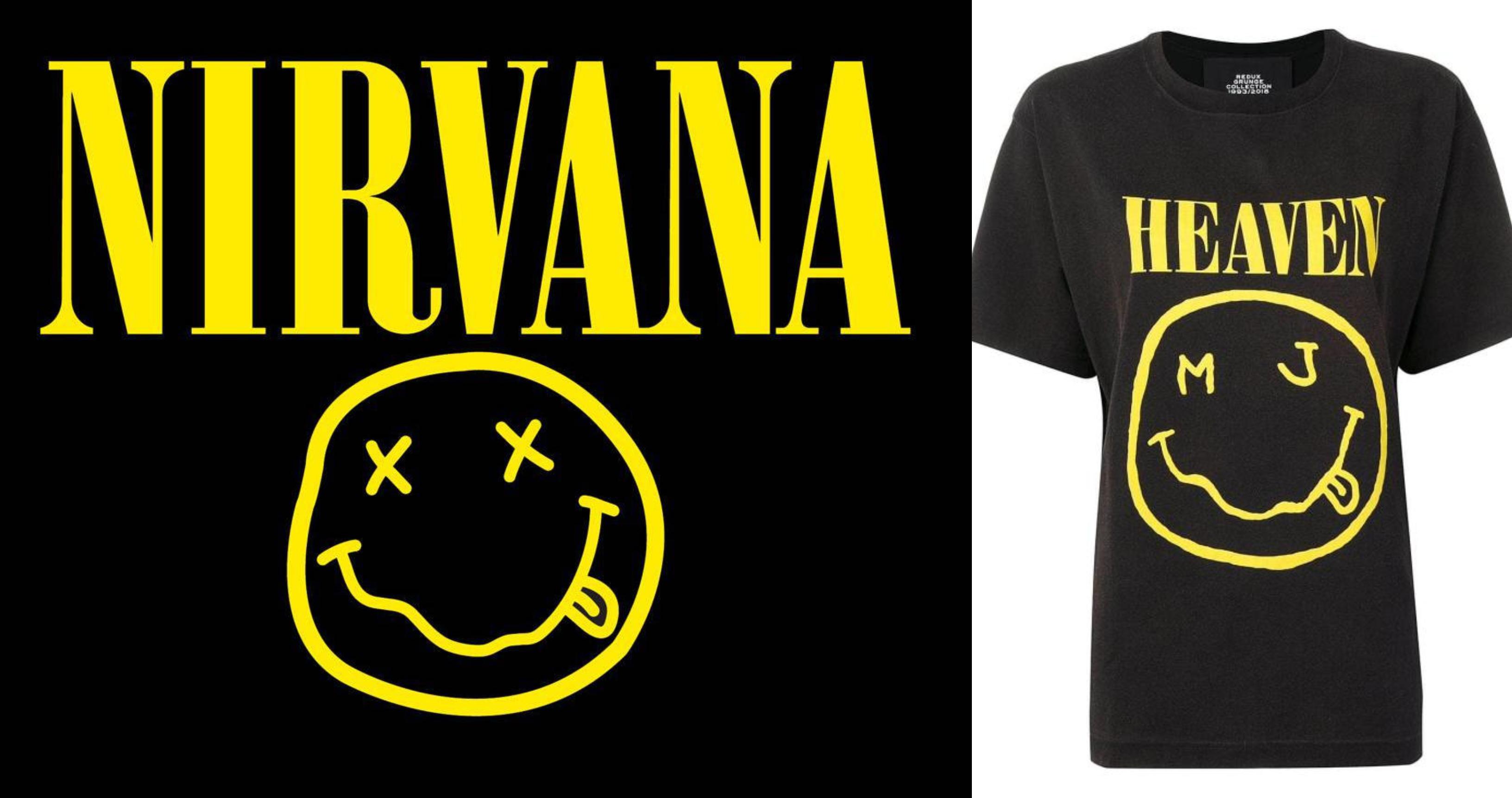 Nirvana está processando Marc Jacobs por copiar sua icônica smiley face a9b3c0d486