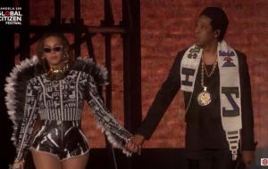 Beyoncé e JAY-Z se apresentam no Global Citizen, festival que homenageou Nelson Mandela