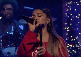 Com falsetes poderosíssimos, Ariana Grande apresenta Imagine ao vivo na TV; assista!