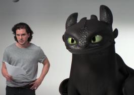 Kit Harington encontra Banguela em novo vídeo de Como Treinar Seu Dragão 3