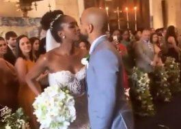 A Iza vestida de noiva é provavelmente a coisa mais linda que você verá hoje <3