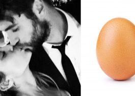 Miley Cyrus desmente o rumor de gravidez citando o ovo mais curtido do Instagram!