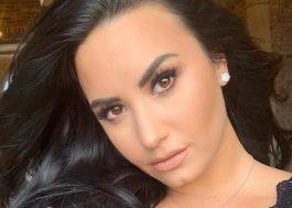 """Demi Lovato não quer participar do #10yearchallenge e explica: """"Tô muito ocupada vivendo o momento"""""""