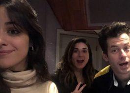 Mark Ronson publica foto com Camila Cabello em estúdio!