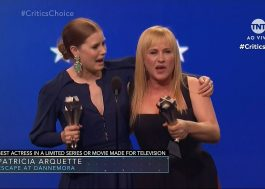 Deu empate! Patricia Arquette e Amy Adams dividem prêmio no Critics' Choice Awards!