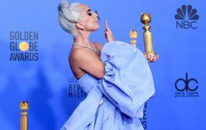 Lady Gaga foi um dos assuntos mais procurados no Google Brasil na noite do Golden Globes