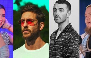 Só hits! Calvin Harris fará show no BRIT Awards com Dua Lipa, Sam Smith e Rag'n'Bone Man