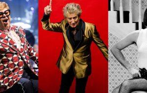 Elton John, Freddie Mercury e Rod Stewart já consideraram formar uma banda!