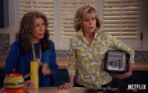 Grace and Frankie é renovada para a 6 º temporada pela Netflix