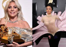 """Gaga defende vitória de Cardi B no Grammy 2019: """"é muito difícil ser mulher nesta indústria"""""""
