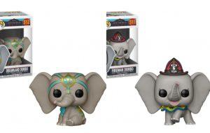 Dumbo ganha bonecos da linha Pop! da Funko e estão umas fofuras <3
