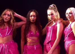 "Poder! Little Mix arrasa muito na coreô de ""Woman Like Me"" no BRIT Awards 2019"