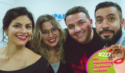 Larissa Manoela e Zeca Pagodinho no podcast