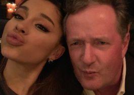 Após climão no Twitter, Ariana Grande faz as pazes com Piers Morgan