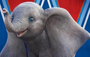 Vem ver o Dumbo todo sorridente no novo cartaz do longa!
