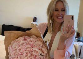 Kylie Minogue, anja do pop, comemora primeiro Dia dos Namorados ao lado de Paul Solomons
