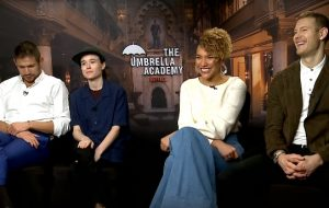 """Vai maratonar """"The Umbrella Academy"""" da Netflix? Nós entrevistamos o elenco!"""