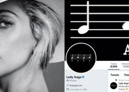 Socorro! Lady Gaga muda o visual de seu Twitter e indica nova era