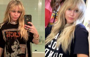 Miley Cyrus corta o cabelo estilo Hannah Montana e tá maravilhoso!