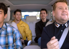 "Jonas Brothers cantam ""Sucker"" ao vivo pela 1ª vez e participam do Carpool Karaoke no James Corden!"