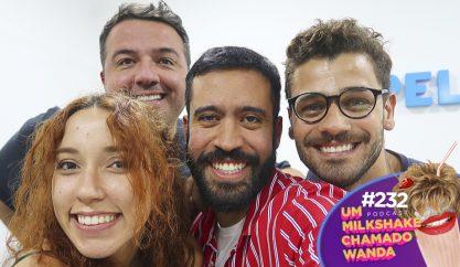 Farofapalha e relacionamentos no podcast