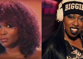 Socorro! Lizzo e Missy Elliott anunciam lançamento de featuring para esta quarta!