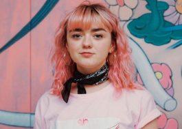 """Maisie Williams revela como fama após """"Game Of Thrones"""" impactou sua saúde mental"""