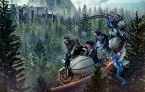 Montanha-russa inspirada em Hagrid terá criaturas mágicas e trecho na floresta proibida!