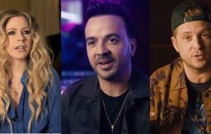 Avril Lavigne, Luís Fonsi e Ryan Tedder lançarão música tema das Olimpíadas Especiais 2019!