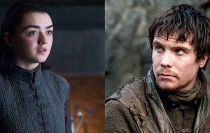 """Maisie Williams comenta sobre cena inédita de Arya e Gendry em GoT: """"achei que fosse uma pegadinha"""""""