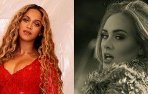 """Adele pira com amigo quando fica sabendo de filme da Beyoncé, """"Homecoming"""""""