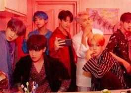 BTS se torna o primeiro grupo coreano a atingir o topo das paradas britânicas