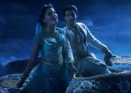 """Novo teaser de Aladdin mostra mais um voo de tapete e Jasmine cantando """"A Whole New World"""""""