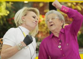 """Histórico! Ana Maria Braga recebe Palmirinha no """"Mais Você"""" e faz homenagem emocionante"""