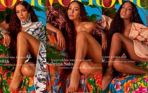 Anitta, Sabrina Sato e Lellê são capa da edição de aniversário da Vogue Brasil