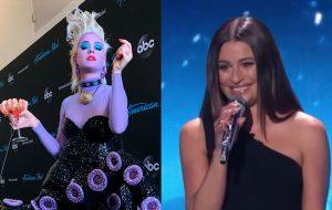 """Katy Perry se veste de Úrsula e Lea Michele canta música de """"A Pequena Sereia"""" no American Idol"""