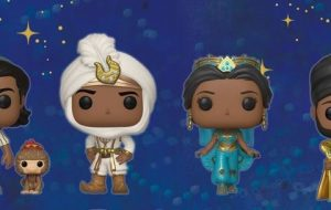 """Live-action de """"Aladdin"""" ganha colecionáveis da linha Pop! da Funko"""