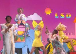 """LSD faz primeira apresentação de """"No New Friends"""" na TV"""