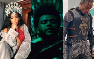 "SZA, The Weeknd e Travis Scott mostram bastidores de ""Power is Power"", clipe da trilha de ""Game of Thrones"""