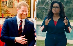 Príncipe Harry e Oprah Winfrey terão série documental sobre saúde mental no Apple TV+