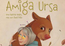 """""""Amiga Ursa"""", novo livro de Rita Lee, ganha capa super fofa; vem ver!"""