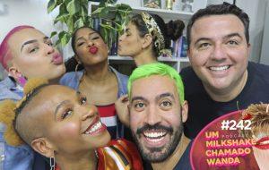 Drik Barbosa, Karol Conka e Gloria Groove causam muito no nosso podcast!