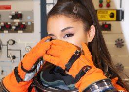Ariana Grande grava Instagram Stories mostrando sua primeira visita na NASA <3
