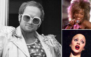 """Toma estas cinebiografias lindas como aquecimento para """"Rocketman"""", filme sobre a vida de Elton John"""