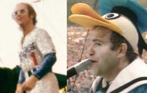 Listamos 15 looks icônicos de Elton John, um dos músicos mais extravagantes da história