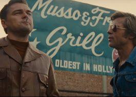 """Leonardo DiCaprio está em crise no novo trailer de """"Era Uma Vez Em… Hollywood"""""""
