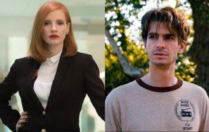 Jessica Chastain e Andrew Garfield vão estrelar filme sobre famoso casal de religiosos americanos