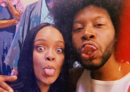 Ator posta foto com a Rihanna e usa legenda misteriosa; vem lançamento?