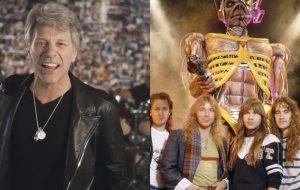 Bon Jovi e Iron Maiden farão apresentações extras no Brasil!